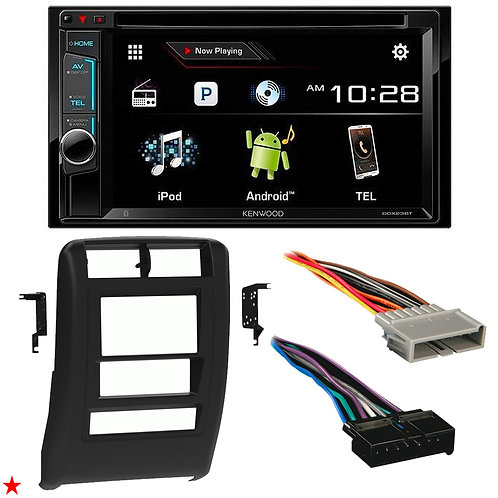 "1997 - 2001 JEEP CHEROKEE DOUBLE DIN CAR STEREO INSTALLATION DASH KIT BEZEL ""03"""