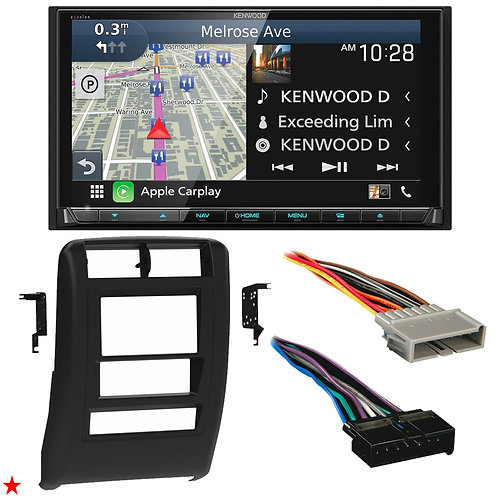 "1997 - 2001 JEEP CHEROKEE DOUBLE DIN CAR STEREO INSTALLATION DASH KIT BEZEL ""24"""