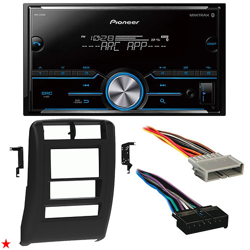 "1997 - 2001 JEEP CHEROKEE DOUBLE DIN CAR STEREO INSTALLATION DASH KIT BEZEL ""48"""
