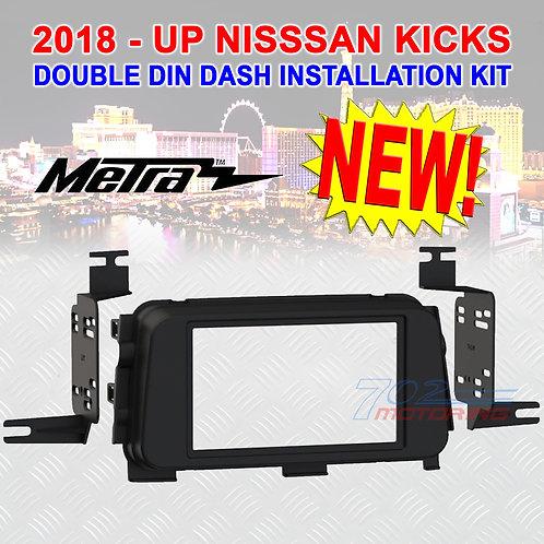 18 - UP NISSSAN KICKS METRA 95-7636B 2DIN AFTERMARKET RADIO DASH INSTALL KIT NEW