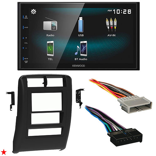 "1997 - 2001 JEEP CHEROKEE DOUBLE DIN CAR STEREO INSTALLATION DASH KIT BEZEL ""Y"""