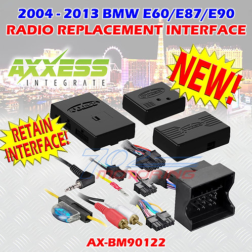 AXXESS BM90122 BMW (WITH M.O.S.T. 25 AMPLIFIER) 2004-2013 WITH ASWC-1 RETENTION