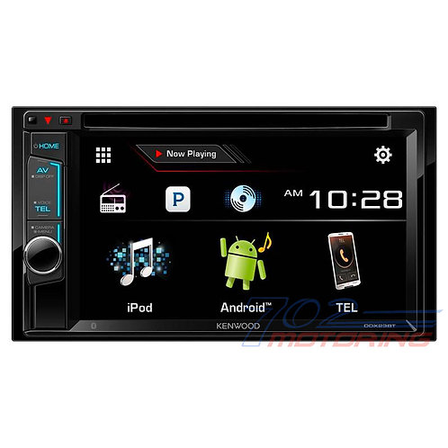 KENWOOD DDX23BT  6.2 INCH MULTIMEDIA DVD RECEIVER WITH BLUETOOTH