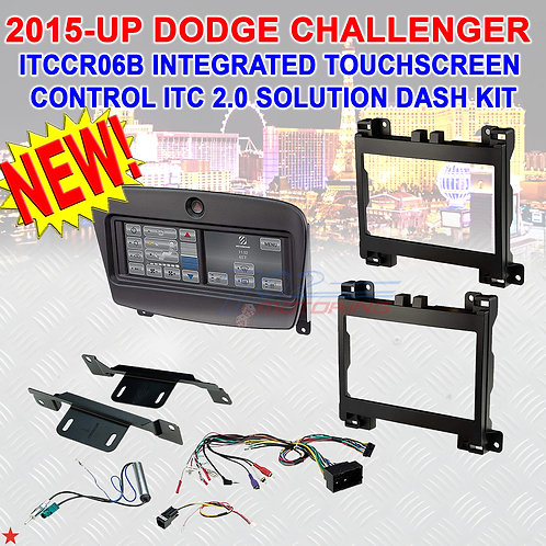 2015-UP DODGE CHALLENGER INTEGRATED TOUCHSCREEN CONTROL ITC 2.0 SOLUTION DASHKIT