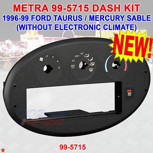 CAR RADIO STEREO DASH KIT BEZEL HARNESS FOR 1996-1999 FORD TAURUS MERCURY SABLE