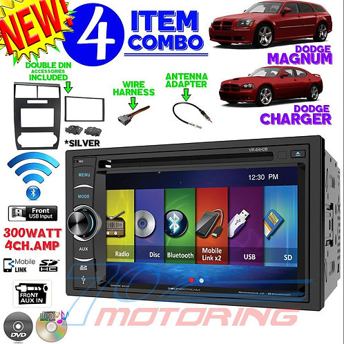 05-07 DODGE MAGNUM / CHARGER VR-64H2B + 99-6519S + HARNESS + ANTENNA A