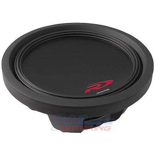 "ALPINE SWR-T12 TYPE-R THIN 12"" 4-ohm SHALLOW-MOUNT SUBWOOFER"
