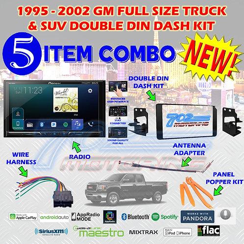 95-02 GM TRUCK/SUV MVH-2300NEX + 95-3003G + HARNESS + ANTENNA ADAPTER