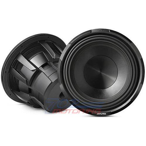 """ALPINE X-W12D4 X-SERIES 12"""" SUBWOOFER WITH DUAL 4-ohm VOICE COILS"""
