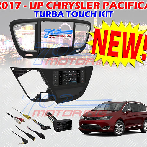 METRA 99-6543HG SINGLE / DOUBLE DIN DASH KIT FOR 2017 - Up CHRYSLER PACIFICA