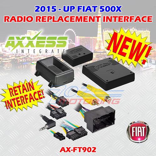 2015 AXXESS AX-FT902 FIAT 500X DATA INTERFACE W/ SWC & DISPLAY RETENTION FT902