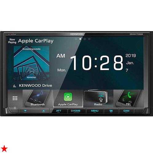 "KENWOOD 6.95"" DIGITAL MEDIA RECEIVER APPLE CARPLAY & ANDROID AUTO MP3 DMX706S"