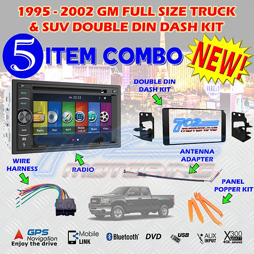 95-02 GM TRUCK/SUV VRN-64HB + 95-3003G + HARNESS + ANTENNA + POPPERS