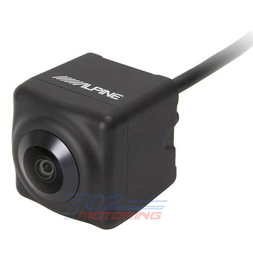 ALPINE HCE-C2600FD FRONT-VIEW CAMERA W/ MULTIPLE ANGLES — WORKS W/ KCX-C250MC