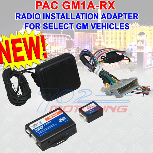 PAC GM1A-RX RADIOPRO ADVANCED RADIO INSTALLATION ADAPTER FOR GM CLASS-2 VEHICLES