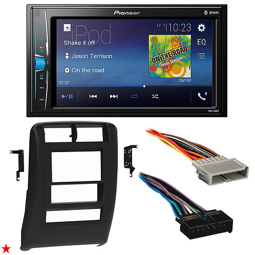 "1997 - 2001 JEEP CHEROKEE DOUBLE DIN CAR STEREO INSTALLATION DASH KIT BEZEL ""44"""