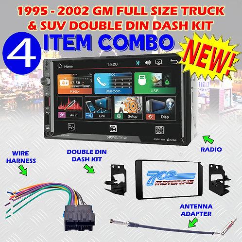 95-02 GM TRUCK/SUV VM-700HB + 95-3003G + HARNESS + ANTENNA ADAPTER