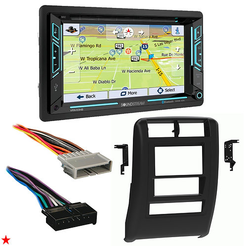 "1997 - 2001 JEEP CHEROKEE DOUBLE DIN CAR STEREO INSTALLATION DASH KIT BEZEL ""G"""
