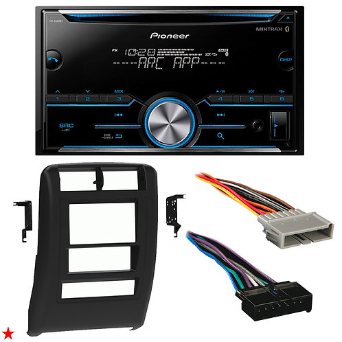 "1997 - 2001 JEEP CHEROKEE DOUBLE DIN CAR STEREO INSTALLATION DASH KIT BEZEL ""41"""