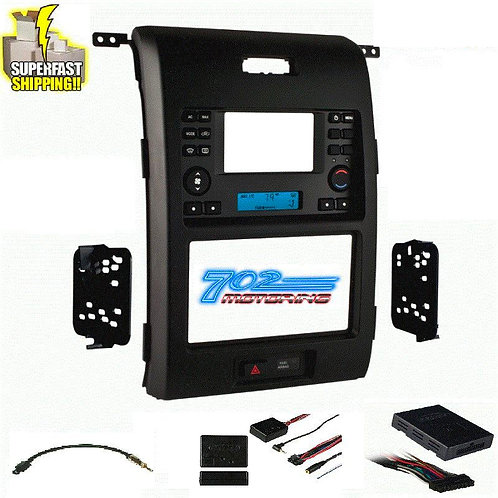 2013 FORD F-150 DOUBLE DIN INSTALLATION KIT / METRA 99-5830B