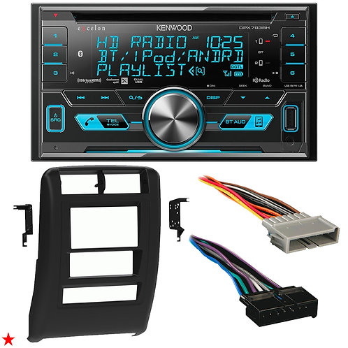 "1997 - 2001 JEEP CHEROKEE DOUBLE DIN CAR STEREO INSTALLATION DASH KIT BEZEL ""20"""