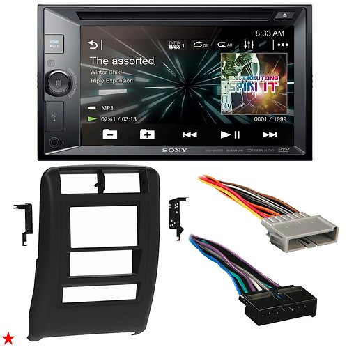 "1997 - 2001 JEEP CHEROKEE DOUBLE DIN CAR STEREO INSTALLATION DASH KIT BEZEL ""U"""