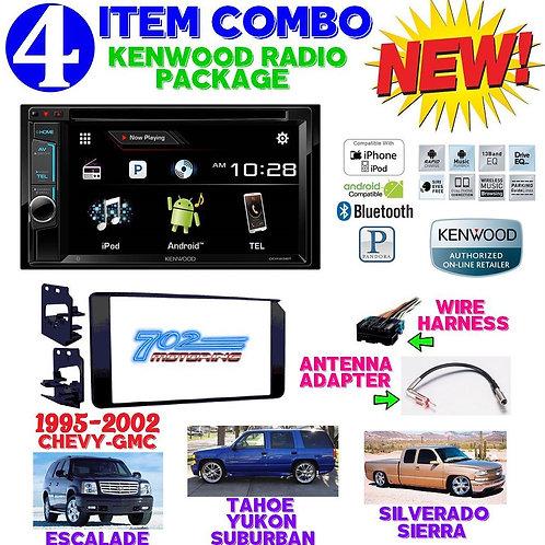95-02 GM TRUCK/SUV DDX23BT + 95-3003G + HARNESS + ANTENNA ADAPTER