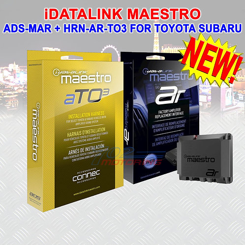 iDATALINK MAESTRO HRN-AR-TO3 T HARNESS ADS-MAR INTERFACE FOR TOYOTA SUBARU NEW!