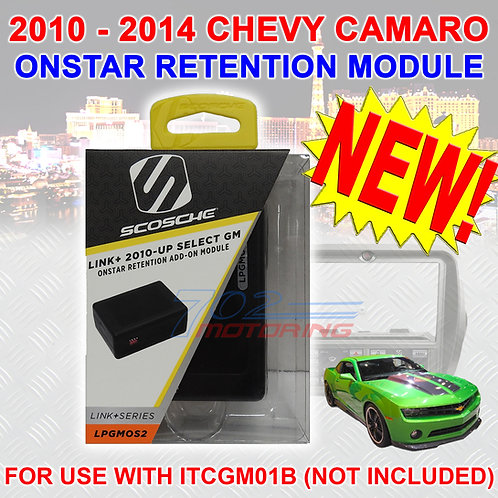 ONSTAR MODULE >ONLY< FOR THE SCOSCHE ITCGM01B 2010-2014 CHEVROLET CAMARO BEZEL