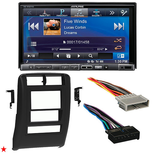 "1997 - 2001 JEEP CHEROKEE DOUBLE DIN CAR STEREO INSTALLATION DASH KIT BEZEL ""P"""
