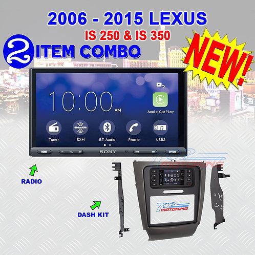 "06-15 ""IS"" SERIES LEXUS - XAV-AX5000 + METRA 99-8163"