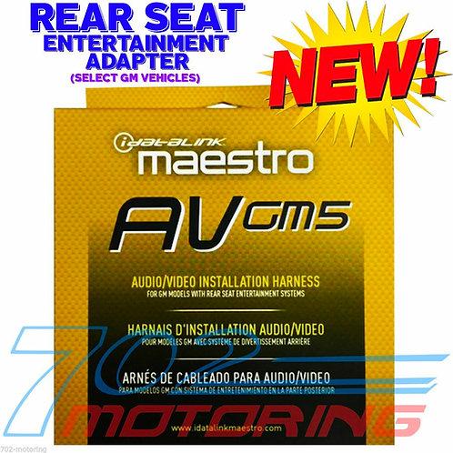 MAESTRO iDATALINK HRN-AV-GM5 AVGM5 INTEGRATION 2 REAR SEAT ENTERTAINMENT