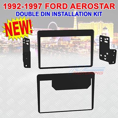 METRA 95-5702 FORD AEROSTAR 1992-1997 ISO DOUBLE DIN STEREO RADIO DASH BEZEL KIT