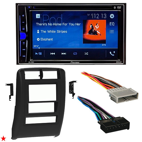 "1997 - 2001 JEEP CHEROKEE DOUBLE DIN CAR STEREO INSTALLATION DASH KIT BEZEL ""30"""