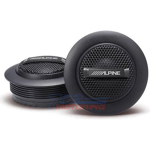 """ALPINE SPS-110TW TYPE-S 1"""" SILK DOME TWEETERS"""