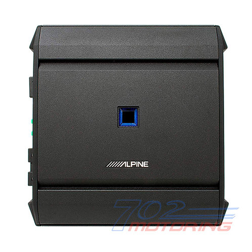 ALPINE S-A60M S-SERIES MONO AMPLIFIER, 600 W RMS x 1 AT 2OHMS AUTHORIZED DEALER