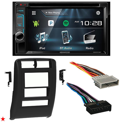 "1997 - 2001 JEEP CHEROKEE DOUBLE DIN CAR STEREO INSTALLATION DASH KIT BEZEL ""02"""