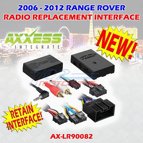 06 - 12 METRA AX-LR90082 RANGE ROVER VOGUE W/ MOST25 AMP SWC & DISPLAY RETENTION
