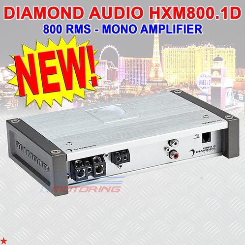 DIAMOND AUDIO® HXM800.1D MOTORSPORT-SERIES 800 RMS MONOBLOCK CLASS-D AMP WIRING