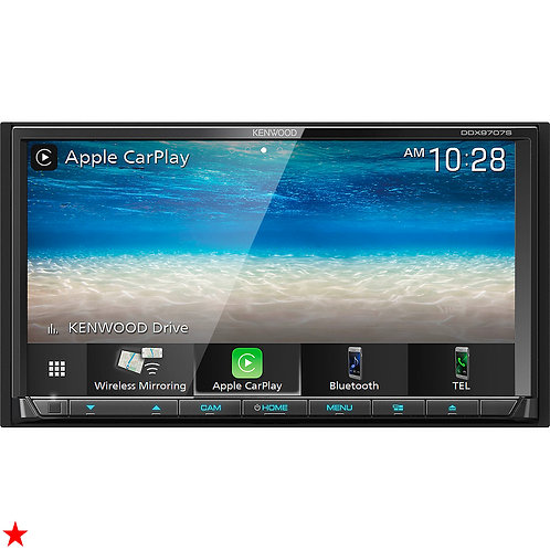 """KENWOOD DDX9707S 6.95"""" DVD CD TOUCHSCREEN ANDROID AUTO / APPLE CARPLAY BLUETOOTH"""