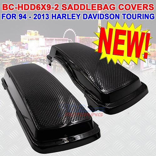 METRA BC-HDD6X9-2 SADDLEBAG LIDS FOR HARLEY DAVIDSON TOURING MODELS 94-2013 NEW