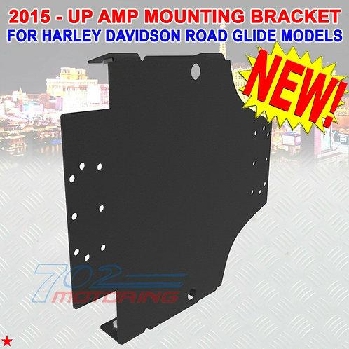 AMPLIFIER MOUNTING BRACKET FOR 2015 - UP HARLEY DAVIDSON ROAD GLIDE MODELS NEW!