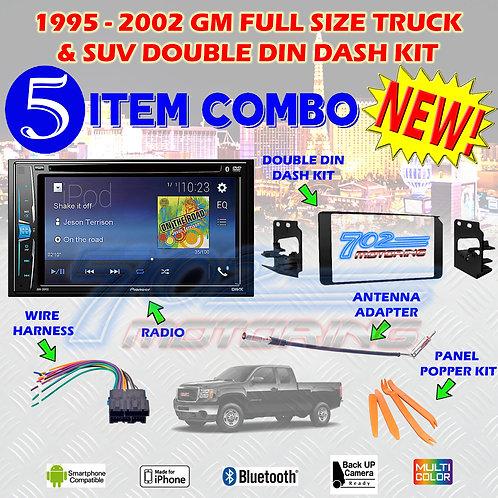 95-02 GM TRUCK/SUV AVH-201EX + 95-3003G + HARNESS + ANTENNA ADAPTER