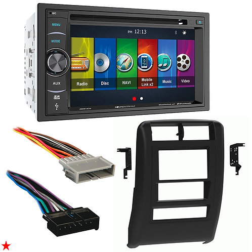 "1997 - 2001 JEEP CHEROKEE DOUBLE DIN CAR STEREO INSTALLATION DASH KIT BEZEL ""H"""