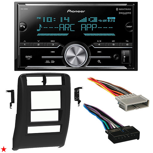 "1997 - 2001 JEEP CHEROKEE DOUBLE DIN CAR STEREO INSTALLATION DASH KIT BEZEL ""47"""