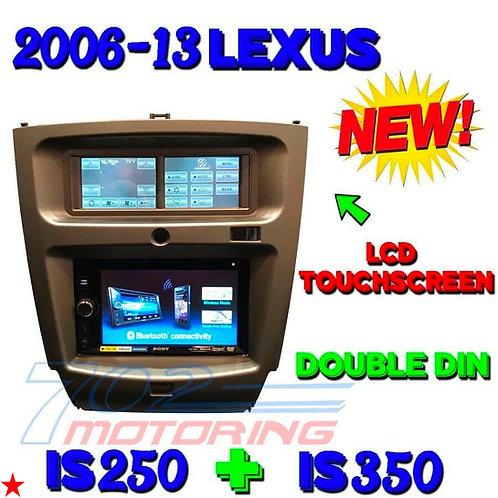 SCOSCHE ITCLS01B 06 - 13 SELECT LEXUS IS250 IS350 IS SERIES DASH KIT BEZEL DBL