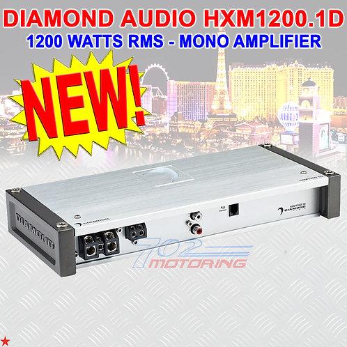 DIAMOND AUDIO® HXM1200.1D MOTORSPORT-SERIES 1200 RMS MONO CLASS-D AMPLIFIER AMP