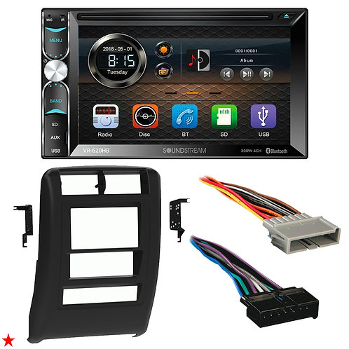 "1997 - 2001 JEEP CHEROKEE DOUBLE DIN CAR STEREO INSTALLATION DASH KIT BEZEL ""L"""