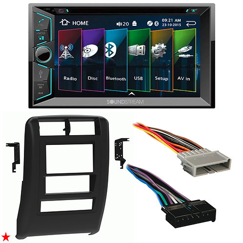 "1997 - 2001 JEEP CHEROKEE DOUBLE DIN CAR STEREO INSTALLATION DASH KIT BEZEL ""C"""