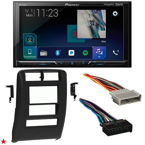 "1997 - 2001 JEEP CHEROKEE DOUBLE DIN CAR STEREO INSTALLATION DASH KIT BEZEL ""50"""